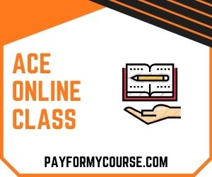 Take My Ace Online Class