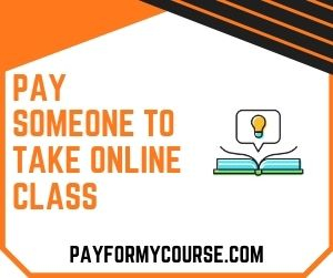 Pay Someone To Take Online Class